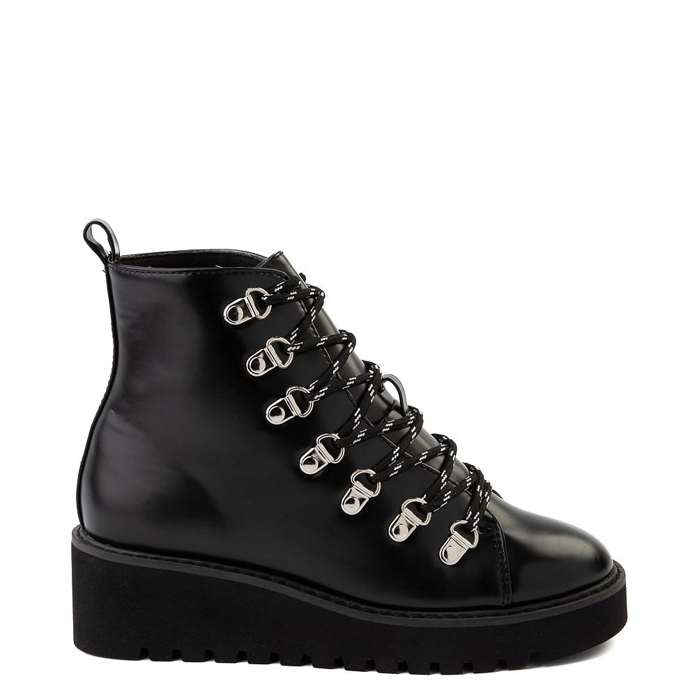 Womens Wanted Hunter Platform Boot - Black