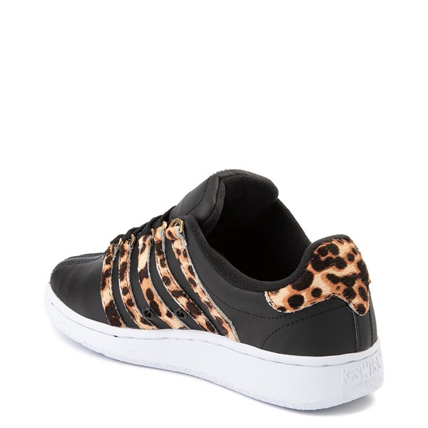 alternate view Womens K-Swiss Classic VN Premium Athletic Shoe - Black / CheetahALT2
