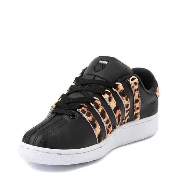 alternate view Womens K-Swiss Classic VN Premium Athletic Shoe - Black / CheetahALT3