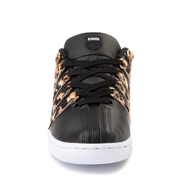 alternate view Womens K-Swiss Classic VN Premium Athletic Shoe - Black / CheetahALT4