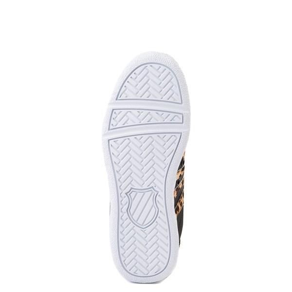 alternate view Womens K-Swiss Classic VN Premium Athletic Shoe - Black / CheetahALT5