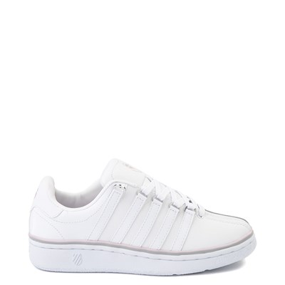 Main view of Womens K-Swiss Classic VN Premium Athletic Shoe - White / Parfait Pink