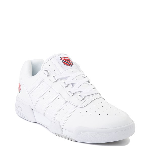 alternate view Mens K-Swiss GSTAAD '86 Athletic Shoe - WhiteALT1