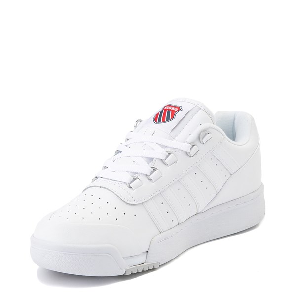 alternate view Mens K-Swiss GSTAAD '86 Athletic Shoe - WhiteALT3