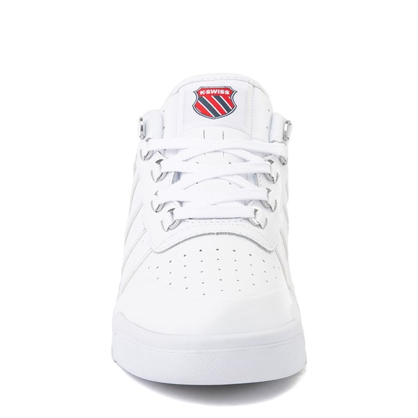 alternate view Mens K-Swiss GSTAAD '86 Athletic Shoe - WhiteALT4