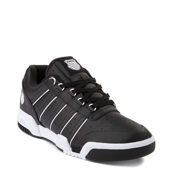 alternate view Mens K-Swiss GSTAAD '86 Athletic Shoe - BlackALT1