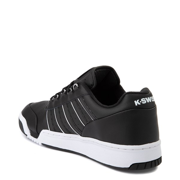 alternate view Mens K-Swiss GSTAAD '86 Athletic Shoe - BlackALT2