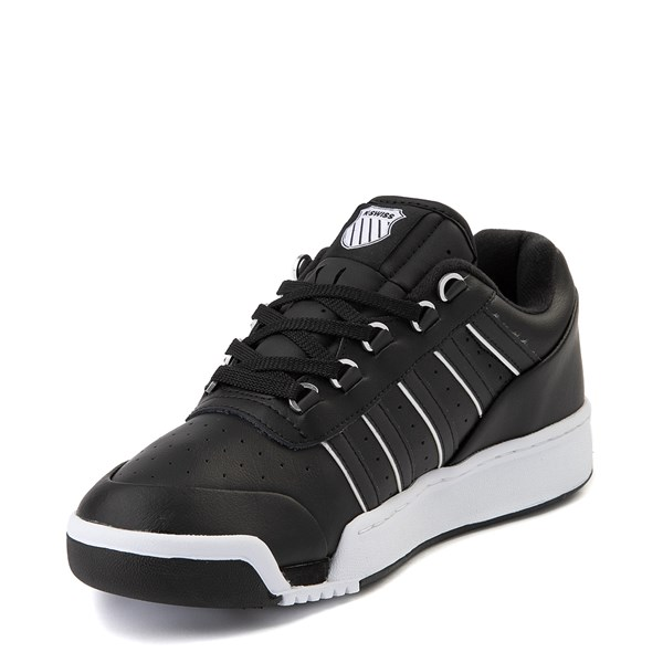 alternate view Mens K-Swiss GSTAAD '86 Athletic Shoe - BlackALT3