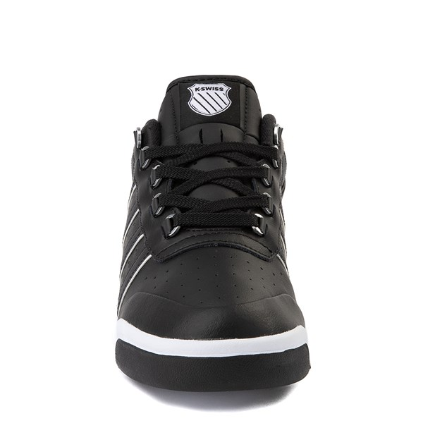 alternate view Mens K-Swiss GSTAAD '86 Athletic Shoe - BlackALT4