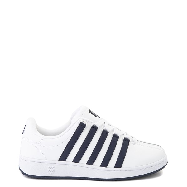Mens K-Swiss Classic VN Heritage Athletic Shoe - White / Navy