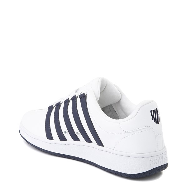 alternate view Mens K-Swiss Classic VN Heritage Athletic Shoe - White / NavyALT1