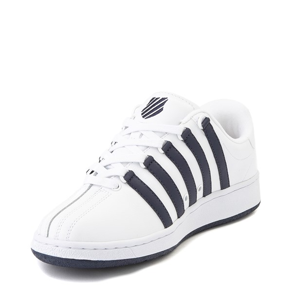 alternate view Mens K-Swiss Classic VN Heritage Athletic Shoe - White / NavyALT2