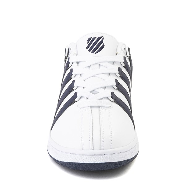 alternate view Mens K-Swiss Classic VN Heritage Athletic Shoe - White / NavyALT4