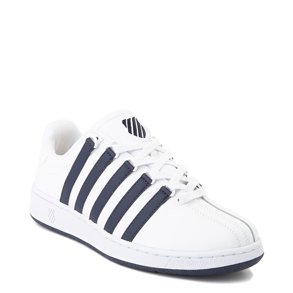 alternate view Mens K-Swiss Classic VN Heritage Athletic Shoe - White / NavyALT5