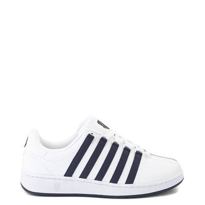 Main view of Mens K-Swiss Classic VN Heritage Athletic Shoe - White / Navy