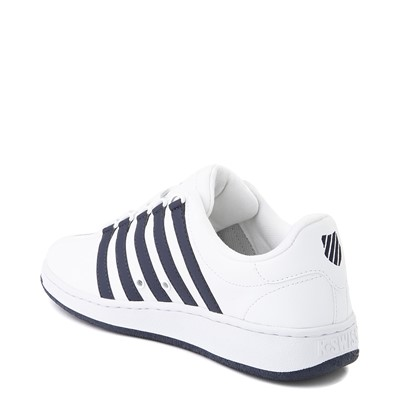 Alternate view of Mens K-Swiss Classic VN Heritage Athletic Shoe - White / Navy