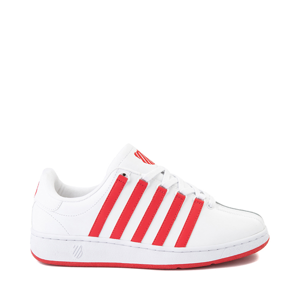 Main view of Mens K-Swiss Classic VN Heritage Athletic Shoe - White / Red