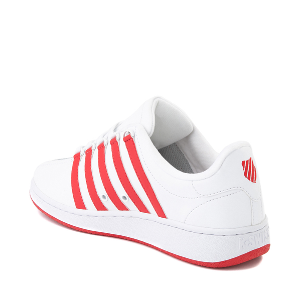 alternate view Mens K-Swiss Classic VN Heritage Athletic Shoe - White / RedALT1