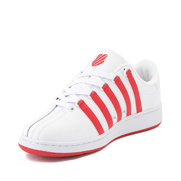 alternate view Mens K-Swiss Classic VN Heritage Athletic Shoe - White / RedALT2