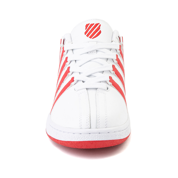 alternate view Mens K-Swiss Classic VN Heritage Athletic Shoe - White / RedALT4