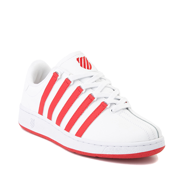 alternate view Mens K-Swiss Classic VN Heritage Athletic Shoe - White / RedALT5