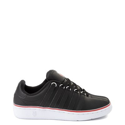 Main view of Mens K-Swiss Classic VN Heritage Athletic Shoe - Black / White / Red
