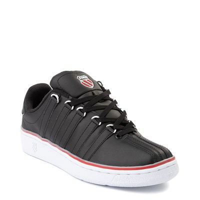 Alternate view of Mens K-Swiss Classic VN Heritage Athletic Shoe - Black / White / Red