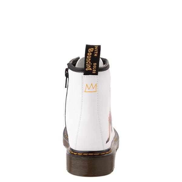 alternate view Dr. Martens x Basquiat 1460 Boot - Little Kid / Big Kid - WhiteALT6