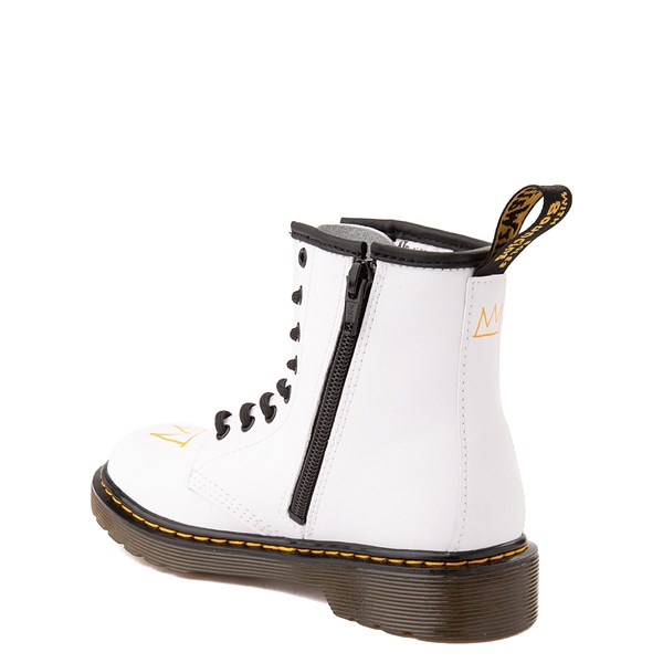 alternate view Dr. Martens x Basquiat 1460 Boot - Big Kid - WhiteALT2