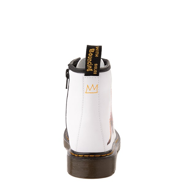 alternate view Dr. Martens x Basquiat 1460 Boot - Big Kid - WhiteALT6