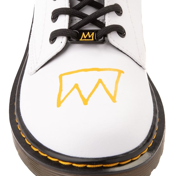 alternate view Dr. Martens x Basquiat 1460 Boot - Big Kid - WhiteALT7