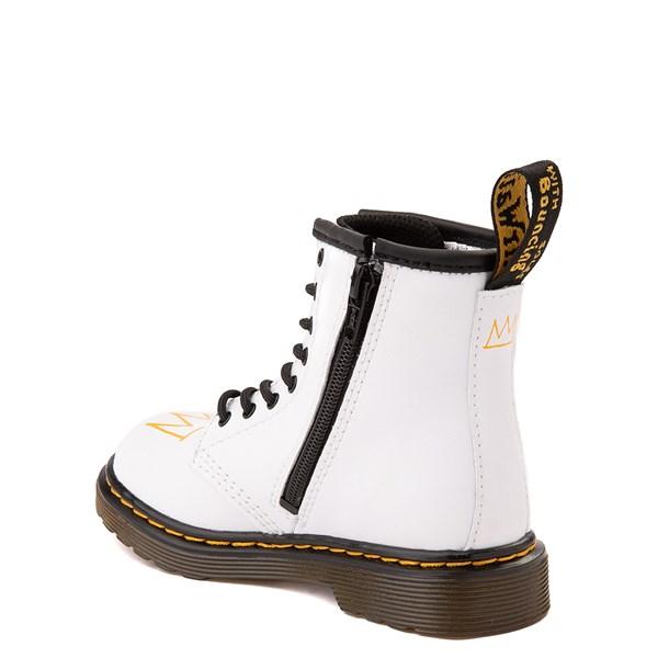alternate view Dr. Martens x Basquiat 1460 Boot - Toddler - WhiteALT2