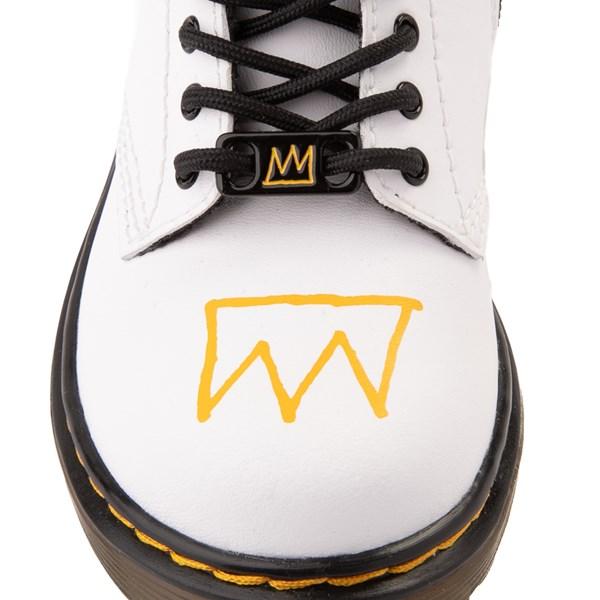 alternate view Dr. Martens x Basquiat 1460 Boot - Toddler - WhiteALT7
