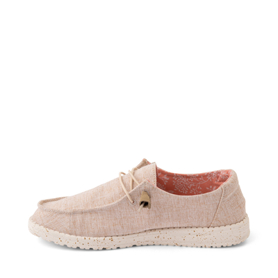 Alternate view of Womens Hey Dude Wendy Slip On Casual Shoe - Natural