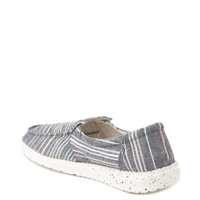 Alternate view of Womens Hey Dude Misty Slip On Casual Shoe - Navy