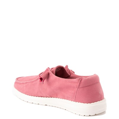 Alternate view of Womens Hey Dude Wendy Slip On Casual Shoe - Rose