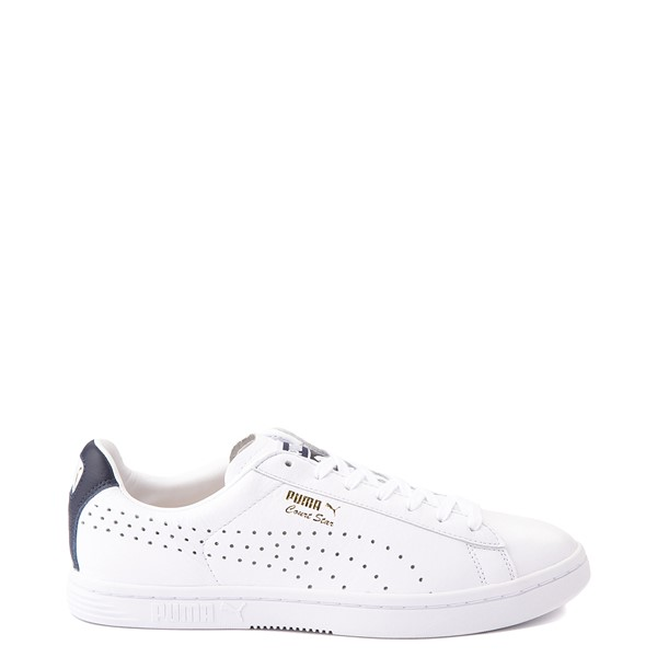 Mens Puma Court Star Athletic Shoe - White / Navy