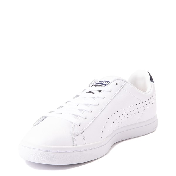 alternate view Mens Puma Court Star Athletic Shoe - White / NavyALT3