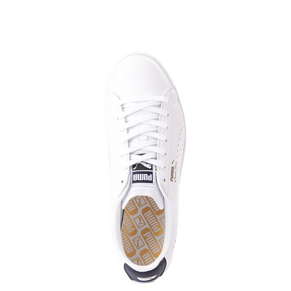 alternate view Mens Puma Court Star Athletic Shoe - White / NavyALT4B