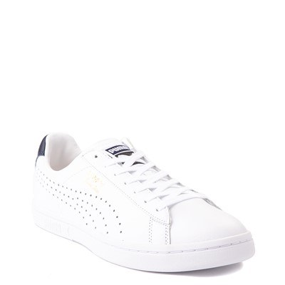 Alternate view of Mens Puma Court Star Athletic Shoe - White / Navy