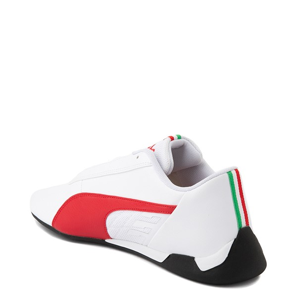 alternate view Mens Puma Scuderia Ferrari Replicat Athletic Shoe - White / RedALT1