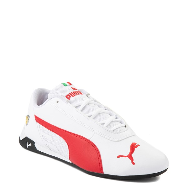 alternate view Mens Puma Scuderia Ferrari Replicat Athletic Shoe - White / RedALT5