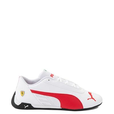 Main view of Mens Puma Scuderia Ferrari Replicat Athletic Shoe - White / Red