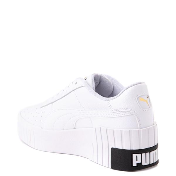 alternate view Womens Puma Cali Wedge Athletic Shoe - WhiteALT1
