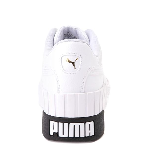 alternate view Womens Puma Cali Wedge Athletic Shoe - WhiteALT4