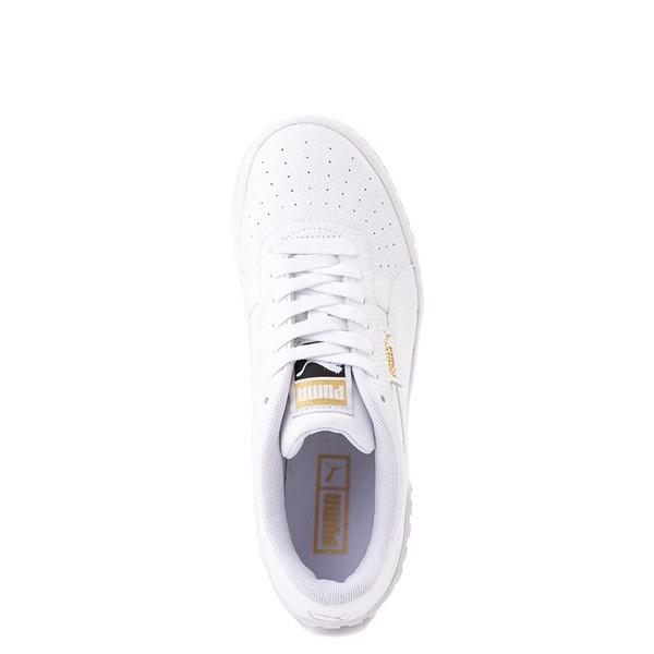 alternate view Womens Puma Cali Wedge Athletic Shoe - WhiteALT4B
