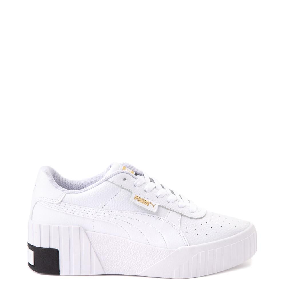 Womens Puma Cali Wedge Athletic Shoe - White