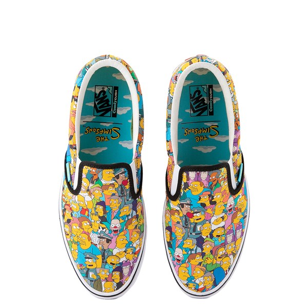 Main view of Vans x The Simpsons Slip On ComfyCush® Springfield Skate Shoe - Multicolor