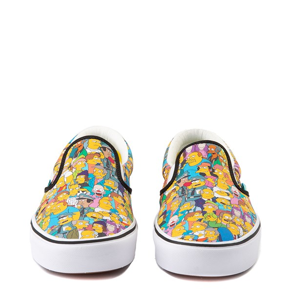 alternate view Vans x The Simpsons Slip On ComfyCush® Springfield Skate Shoe - MulticolorALT4