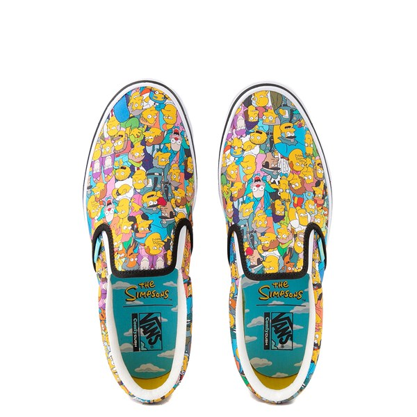 alternate view Vans x The Simpsons Slip On ComfyCush® Springfield Skate Shoe - MulticolorALT4B